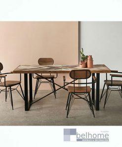 Mesa de comedor madera abeto