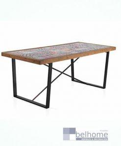 Mesa de comedor tapa cerámica