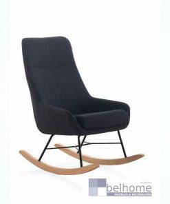 sillón balancín color negro