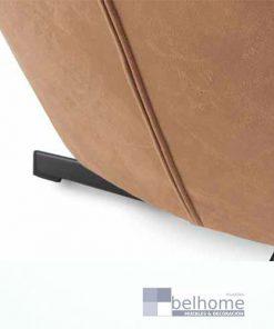 sillón terciopelo giratorio marrón detalles cremallera 247x296 - Muebles en Granada -    Muebles en Granada