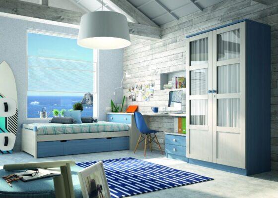 38A 1 JUVENIL DORMITORIO APILABLE GRUPOSEYS 560x400 - Habitaciones juveniles - blog | Muebles en Granada