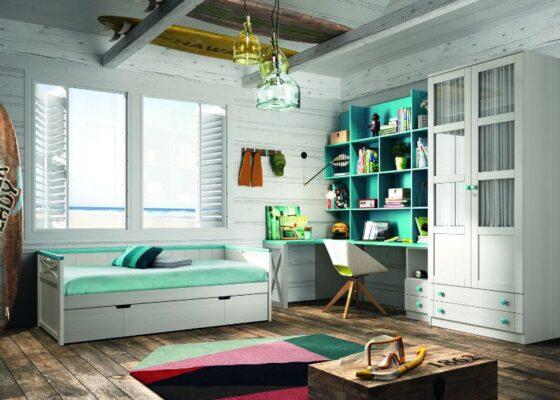 43A 1 JUVENIL DORMITORIO APILABLE GRUPOSEYS 560x400 - Habitaciones juveniles - blog | Muebles en Granada