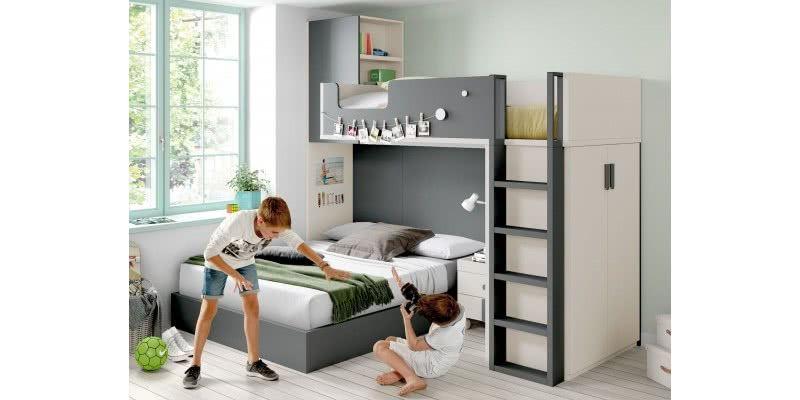 j16 - Habitaciones juveniles - blog | Muebles en Granada