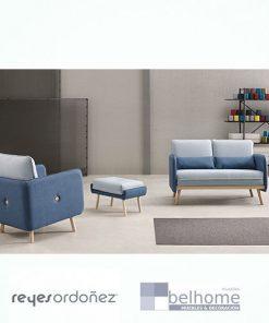 Sillón botton de reyes ordoñez y botton 2 plazas en habitación decorada 247x296 - Muebles en Granada -  | Muebles en Granada