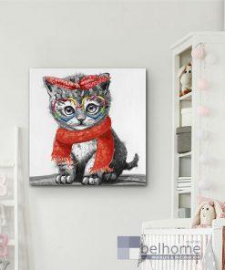 Cuadro kitty