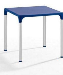 mesa eliana aluminio polipropileno azul 74x74 cms 247x296 - Mesa ELIANA, aluminio, polipropileno gris 74x74 cms -  | Muebles en Granada