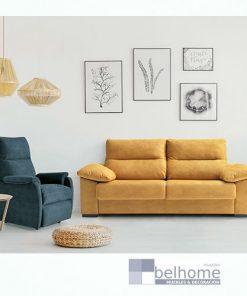 Sofá cama hugo en habitación decorada francés bañon muebles beltran 247x296 - Muebles en Granada -  | Muebles en Granada