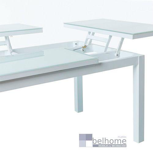 Mesa abatible agnes aluminio