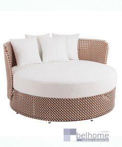 cama de jardín nadia redonda muebles belhome ldk garden 247x296 - Muebles en Granada -  | Muebles en Granada