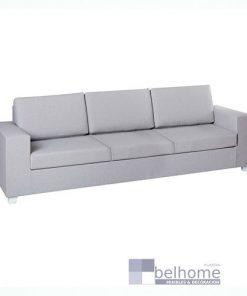 Sofá 3 plazas IO gris