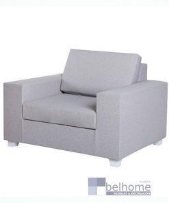 Sofá 1 plaza IO gris