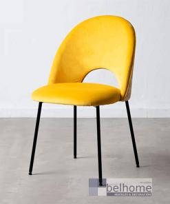 silla amarilla tejido metal muebles belhome 247x296 - Muebles en Granada -  | Muebles en Granada