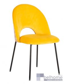 silla amarilla tejido metal muebles belhome fondo blanco 247x296 - Muebles en Granada -  | Muebles en Granada
