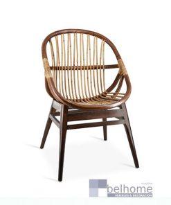 Sillón Bambú ovalado