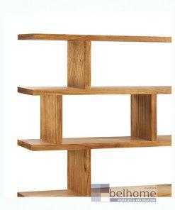 Librería Madhu separador irregular 3 cajones