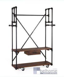 Colgador Pipa 1 cajón 2 estantes