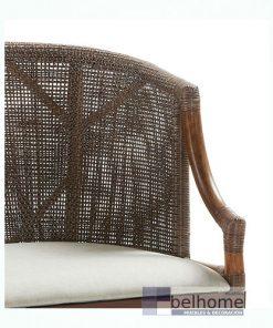 Sillón Luxor Rattan tapizado