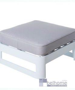 Mesa con cojín Aisha aluminio exterior