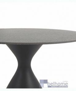 Mesa auxiliar Nadia aluminio grafito