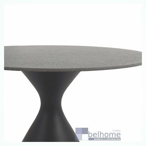 Mesa comedor Nadia aluminio grafito