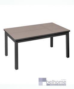 Mesa abatible Agnes aluminio grafito