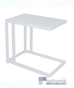 Mesa auxiliar Agnes aluminio