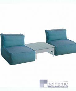 Relax 2 pax Gissele mesa en blanco