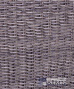 Sofá 1 plaza natural ratán-madera