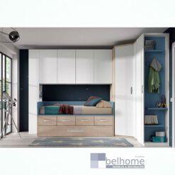 Dormitorio juvenil white