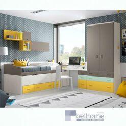Dormitorio juvenil electro