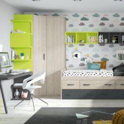 Dormitorio juvenil Nube
